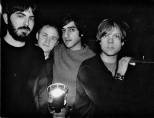 Mark Smith, Michael James, Munaf Rayani, and Chris Hrasky from Explosions in the Sky